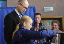 Почему Яценюк обошел Порошенко на выборах в Раду