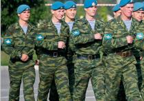 Минобороны наберет десантников на улицах