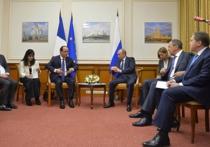 """Путин встретился с Олландом: вместо """"Мистраля"""" могут просто вернуть деньги"""