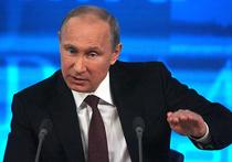Большая пресс-конференция Путина: от президента ждут ответа о судьбе рубля