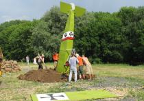 На территории музея-заповедника Коломенское обнаружили сбитый боевой самолет