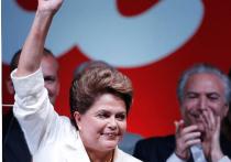 Президент Бразилии Дилма Русеф победила своего соперника с минимальным отрывом