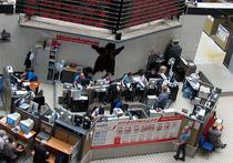 Индекс РТС рухнул на 10% к закрытию торгов на Московской бирже