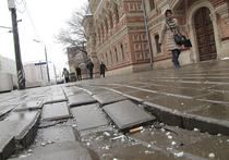 Почему тротуарная плитка  с трудом переживает зиму