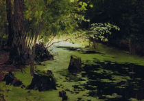 Картины Левитана из Плеса украли во второй раз