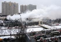 Добровольцы начали разгребать последствия пожара библиотеки ИНИОН