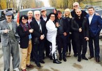 Звезды сделали коллективное «селфи» с Владимиром Путиным и Дмитрием Медведевым на «Формуле – 1»