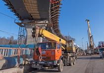 Развязку Ленинского проспекта и МКАД сдадут осенью