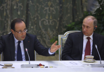 """Олланд назвал причины срыва поставок """"Мистралей"""" в Россию"""
