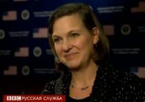 """Нуланд: Москва """"поплатится"""" новыми санкциями, если не изменит свой курс"""