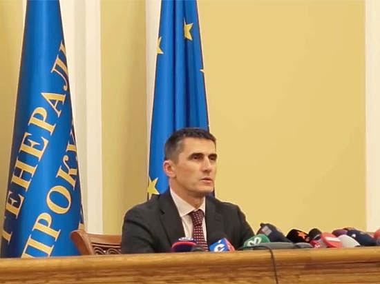 Генпрокурор Украины боится своей армии