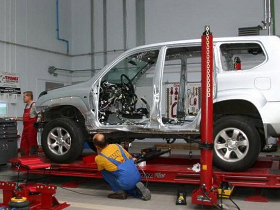 Виды кузовного ремонта легковых авто