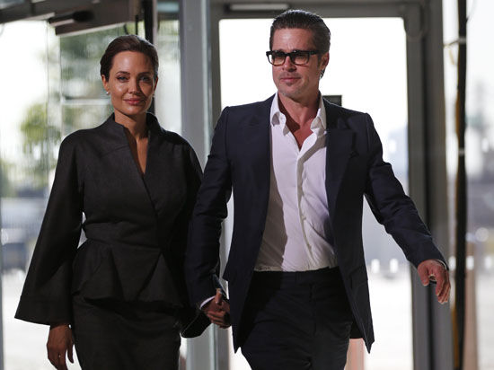 Мистер и миссис Питт: Брэд и Анджелина поженились во Франции