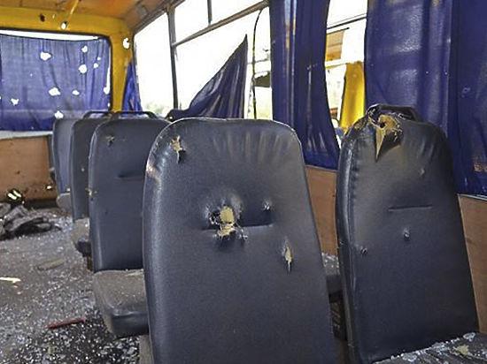 Пресс-секретарь Донецкой ОГА Елена Малютина изложила «МК» свою версию  обстрела автобуса на Донбассе