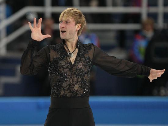 Евгений Плющенко вернулся на лед