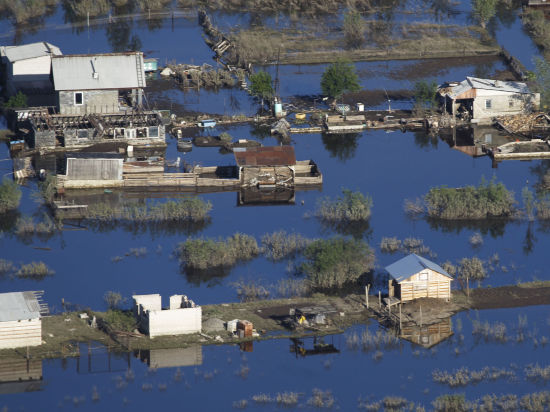 Ученые научились предупреждать наводнения за 11 месяцев