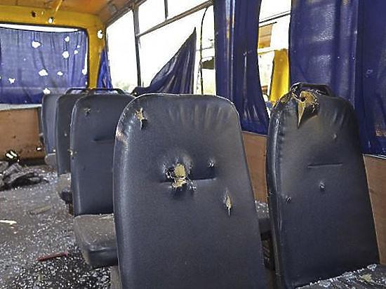 Эксперты ОБСЕ назвали причину трагедии под Волновахой: в нескольких метрах от автобуса разорвался