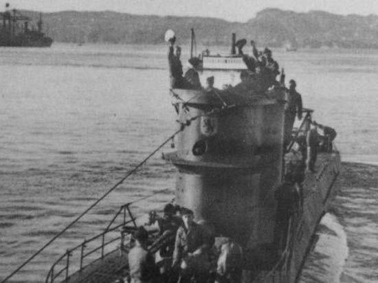 У берегов США обнаружена немецкая подлодка