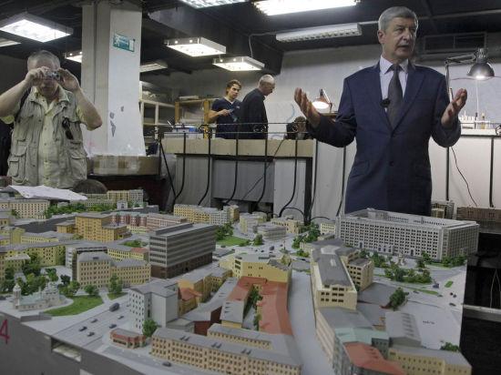 Власти создают секретный макет Москвы