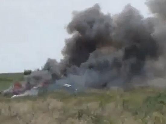 Луганские ополченцы сбили украинский Ан-26 и взяли пилота в плен