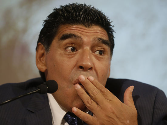Видео, на котором Марадона бьет девушку, шокировало весь мир