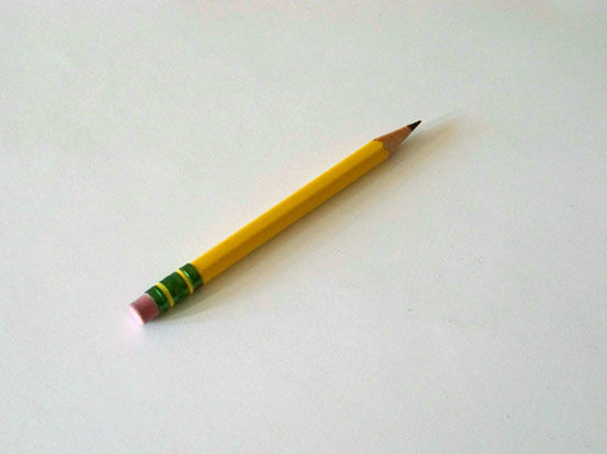 Следователям запретили пользоваться карандашами