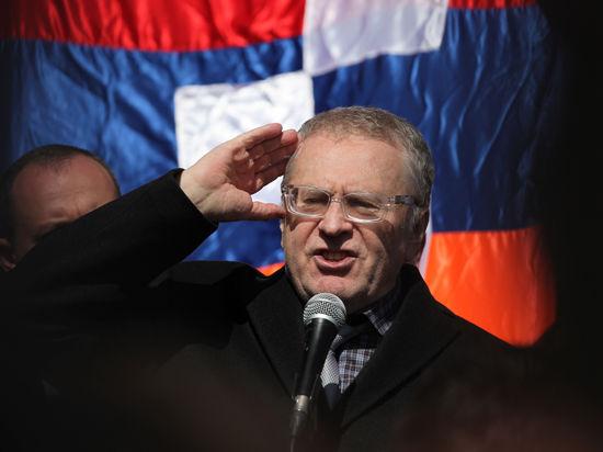 С Жириновского потребовали 100 млн рублей за