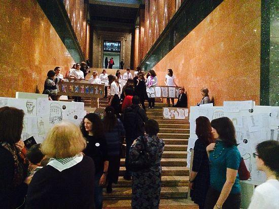 Антивандальная акция Пушкинского музея поразила своими масштабами