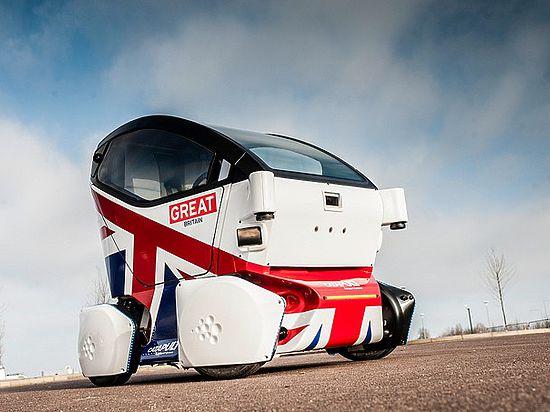 Британцы представили прототип первого ТС для тротуаров