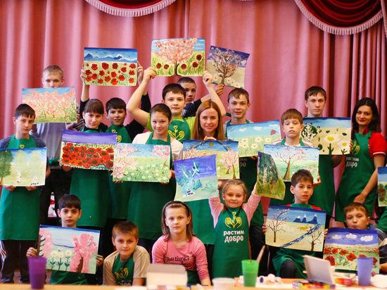 В Москве открывается выставка рисунков детей-сирот