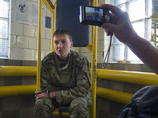 Украинская летчица Савченко из воронежского СИЗО: Ополченцы не могли сбить