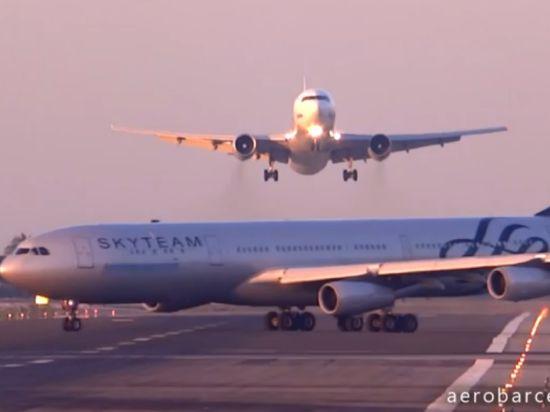 Пилот российского лайнера в Барселоне в последний момент спас борт от столкновения с самолетом из Аргентины