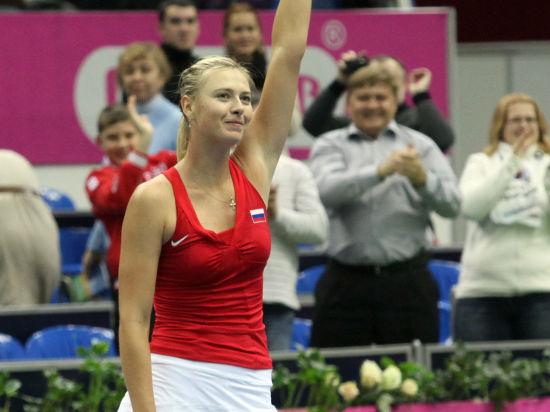 Первая ракетка России Мария Шарапова сыграет на Итоговом турнире WTA