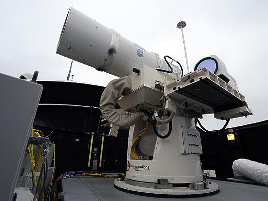 США испытали морской боевой лазер. У России есть воздушный