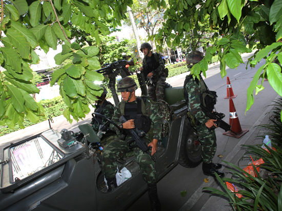 В Таиланде объявлен военный переворот