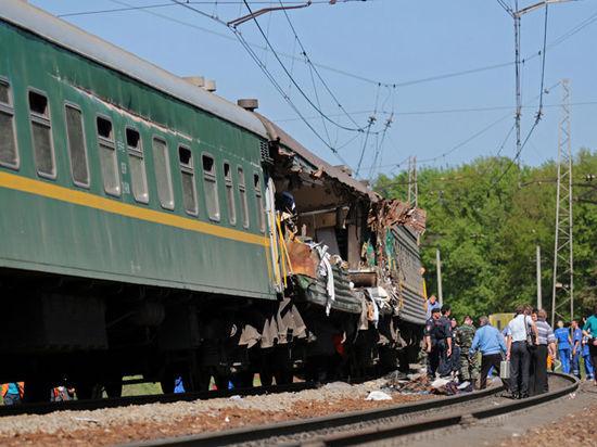 Ространснадзор: Причиной аварии поездов в Бекасово стал выброс пути