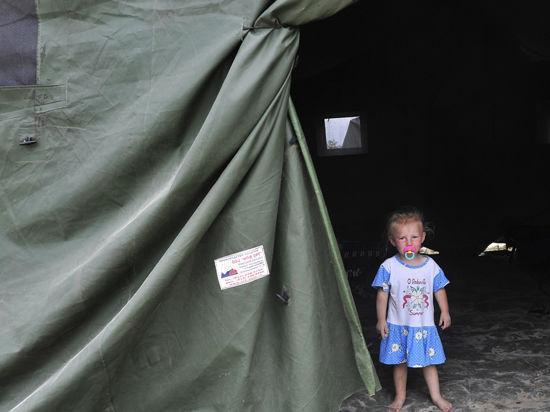 Два спецборта МЧС перевозят 400 беженцев в Иваново и Рязань
