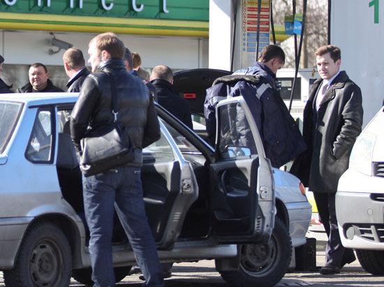 Предполагаемые автоманьяки пойманы на бензоколонке рядом с МКАД