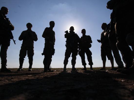 Ополченцы захватили у Иловайска автобус с ранеными бойцами