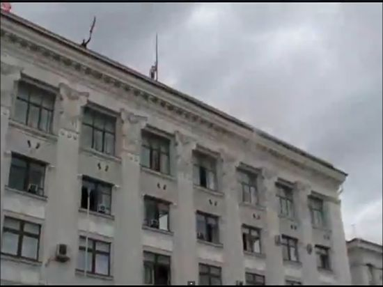В Горловке захватили горсовет и райотдел милиции