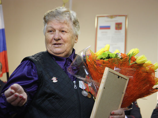 В Москве пенсионерку наградили за задержание вора-рецидивиста