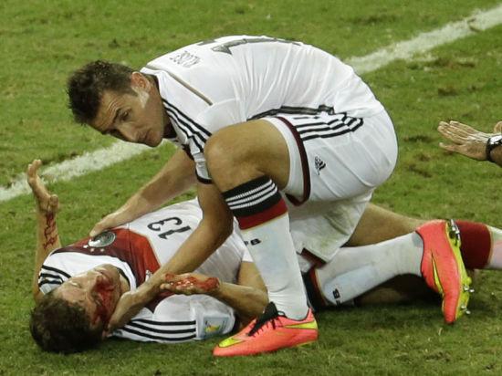 Германия - Алжир -2:1: немцы с огромным трудом победили африканцев. Онлайн