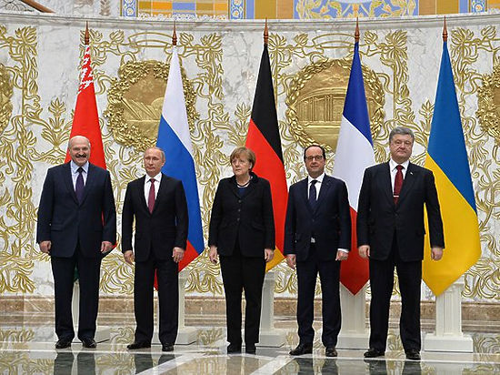 «Нормандская четверка» начала децентрализацию Украины