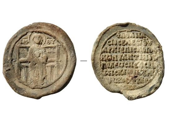В Переяславле Залесском нашли печать патриарха Афанасия Первого