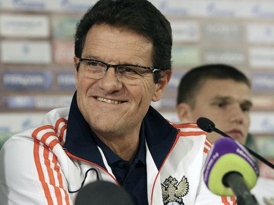Капелло объявил расширенный состав сборной России на чемпионат мира по футболу 2014