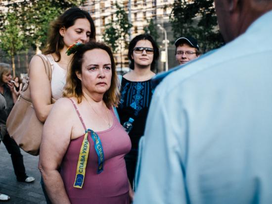 Солидарным с киевскими властями противостояли казаки