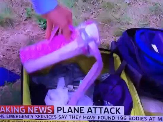 «Просто отвратительно»: британский журналист копался в личных вещах пассажира разбившегося «Боинга»