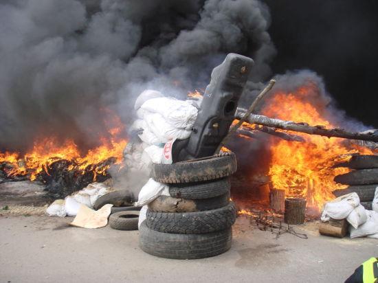 В Донецке Нацгвардия ведет артобстрел жилых домов, гибнут мирные жители