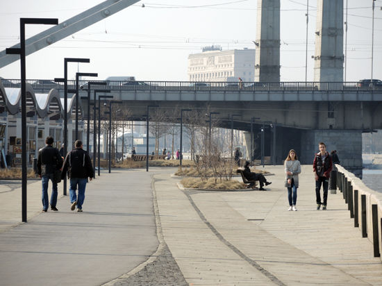 На Москву станет приятно смотреть с реки