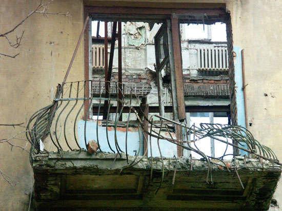 Киевские диверсанты взорвали фугасом штаб ополчения в Донецке